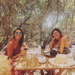 Paz Padilla y Anna Ferrer disfrutando de sus vacaciones en Formentera