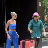 Justin Bieber y Hailey Baldwin salen del apartamento de la modelo en Nueva York