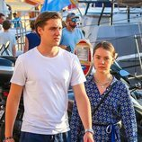 Alexandra de Hannover y Ben-Sylvester Strautmann disfrutan de las calles de Saint-Tropez