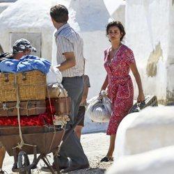 Penélope Cruz en el rodaje de 'Dolor y Gloria', la última obra de Almodóvar