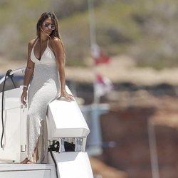 Antonella Roccuzzo de vacaciones en Ibiza