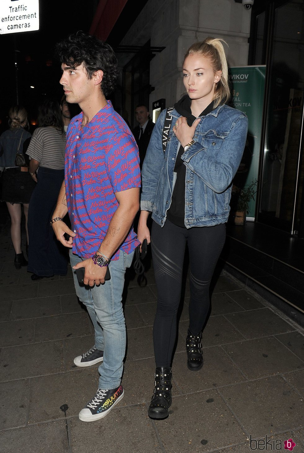 Sophie Turner y Joe Jonas en Londres