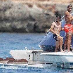 Las vacaciones de Rafa Nadal en Ibiza