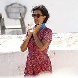 Penélope Cruz en el set de rodaje de 'Dolor y Gloria' en Valencia
