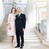 Los Reyes de Bélgica conmemoran los cinco años de reinado de Felipe de Bélgica