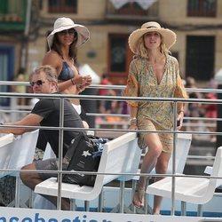 Elsa Pataky, Luciana Barroso y Matt Damon en San Sebastián