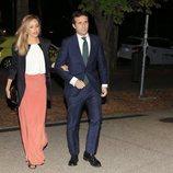 Pablo Casado e Isabel Orts en el aniversario de la boda de José María Aznar
