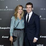 Pablo Casado e Isabel Torres en el aniversario de Squire & Scalpers