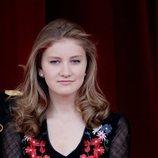 La Princesa Isabel de Bélgica en los actos del Día Nacional