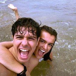 Amaia y Alfred disfrutan de unos días de descanso en la playa