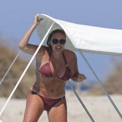 Tamara Ecclestone a bordo de un yate