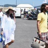 Carlota Casiraghi y Dimitri Rassam de vacaciones en Saint Tropez
