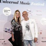 Makoke y Kiko Matamoros en el Universal Music Festival de 2018