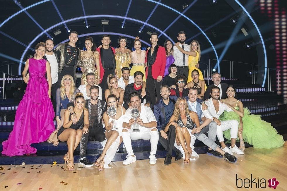 Los concursantes de 'Bailando con las estrellas' tras la gala final