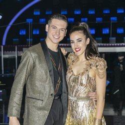 Patry Jordán y Rubén Salvador en la gala final de 'Bailando con las estrellas'