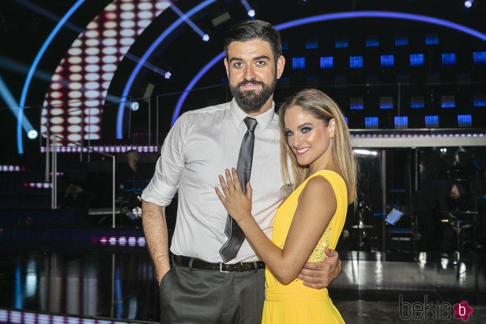 Manu Sánchez y Mireya Arizmendi en la gala final de 'Bailando con las estrellas'