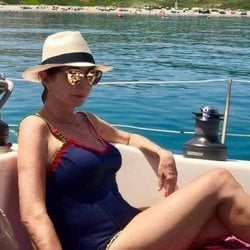 Ana Rosa Quintana disfrutando de unas vacaciones en Cádiz