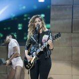 Miriam Rodríguez durante su actuación en 'Bailando con las estrellas'