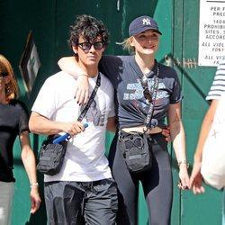 Joe Jonas y Sophie Turner de paseo por Nueva York