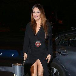 Ivonne Reyes a la llegada del cumpleaños de Anita Matamoros