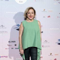 Carmen Machi en el concierto de Pablo López en el Teatro Real