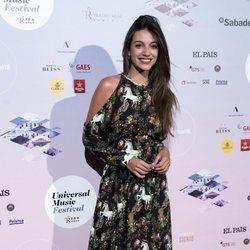 Ana Guerra en el concierto de Pablo López en el Teatro Real