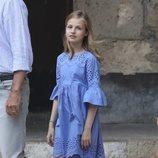 La Princesa Leonor en su posado de verano 2018 en Mallorca