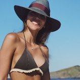 Rosanna Zanetti luciendo tipazo en Menorca