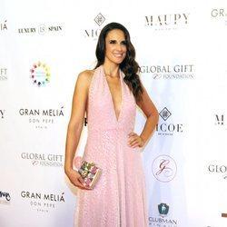 Nuria Fergó durante la celebración de la gala Global Gift Marbella 2018