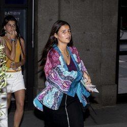 Cayetana Rivera acude al concierto de Morat en el Teatro Real