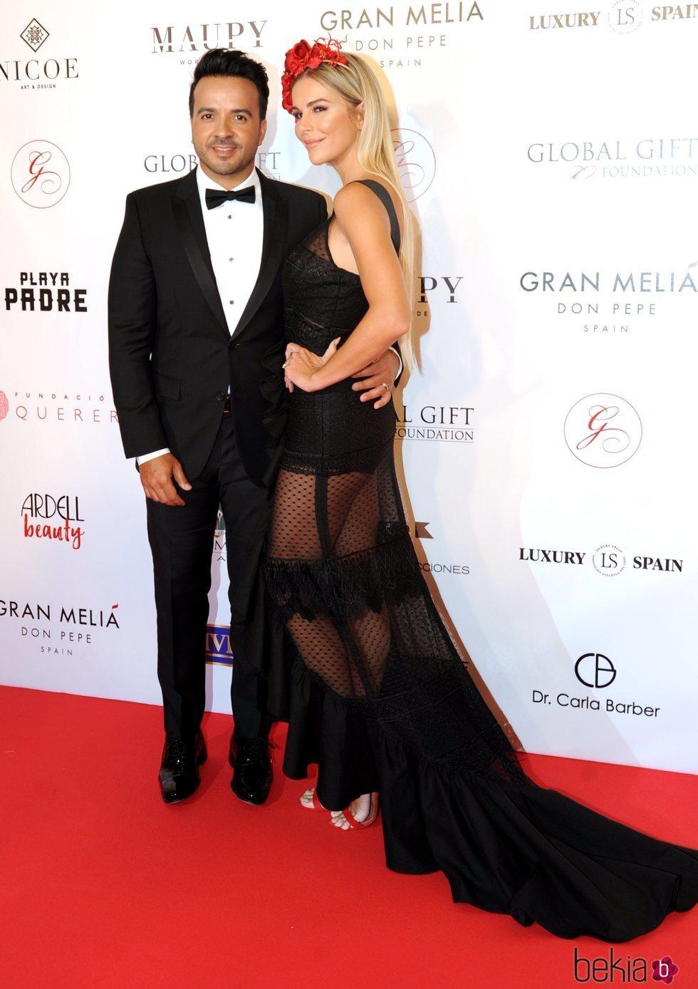 Luis Fonsi durante la celebración de la gala Global Gift Marbella 2018