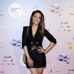 Nagore Robles en el concierto de Pablo Alborán en el Teatro Real