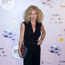 Cristina Fernández en el concierto de Pablo Alborán en el Teatro Real