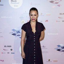 Natalia Verbeke en el concierto de Pablo Alborán en el Teatro Real
