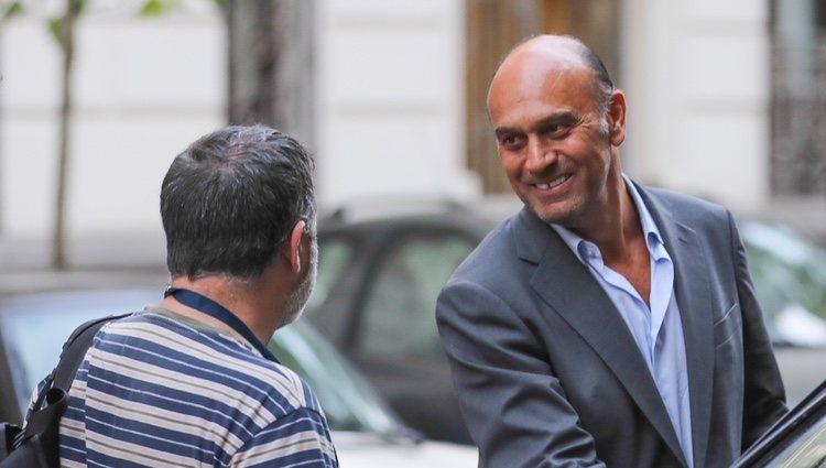 Juan Muñoz, después salir en libertad tras su imputación