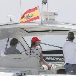 La Reina Sofía y la Infanta Elena en las aguas de Mallorca por la Copa del Rey de Vela
