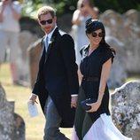 Los Duques de Sussex en la boda de Charlie van Straubenzee y Daisy Jenks