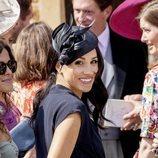 Meghan Markle en la boda de Charlie van Straubenzee y Daisy Jenks
