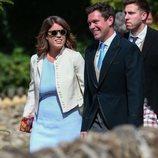 La Princesa Eugenia de York y Jack Brooksbank en la boda de Charlie van Straubenzee y Daisy Jenks