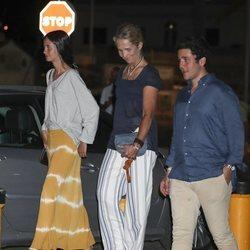 La Infanta Elena, Froilán y Victoria de Marichalar en la cena por el final de la Copa del Rey de Vela 2018