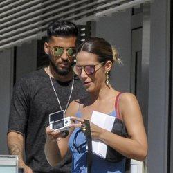 Tamara Gorro y Ezequiel Garay en Valencia