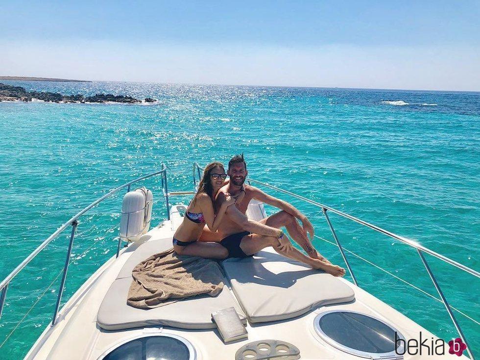 Helen Lindes y Rudy Fernández disfrutando sus vacaciones sin el pequeño Alan en Ibiza