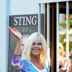 Gunilla von Bismarck acude al concierto de Sting en Marbella
