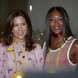 La Princesa Mary de Dinamarca y Naomi Campbell acudieron a la inauguración de la Feria de la Moda de Copenhague