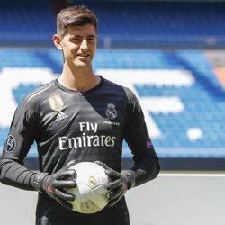 Thibaut Courtois presentado como nuevo jugador del Real Madrid