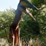 Federico de Dinamarca en el bosque de dinosaurios de Knuthenborg Safari Park