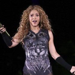 Shakira ne su concierto en Nueva York de 'El Dorado Tour'
