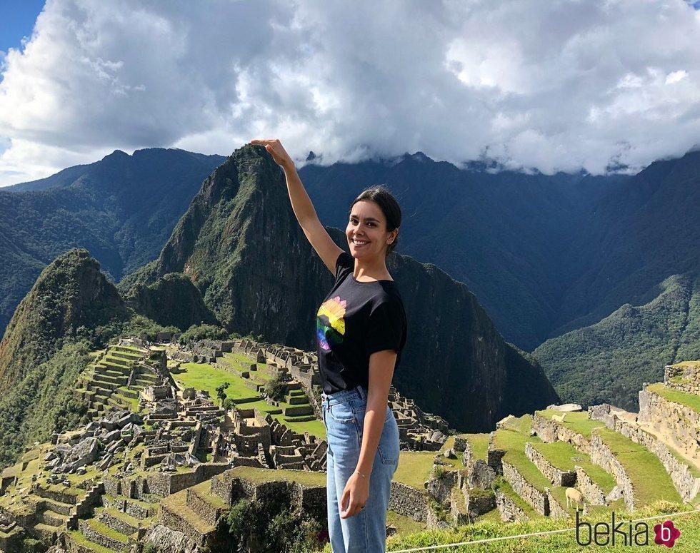 Cristina Pedroche disfrutando de sus vacaciones en Perú