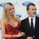 Antonio Banderas y Nicole Kimpel se mostraron muy cómplices durante la Gala Starlite de Marbella 2018