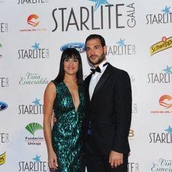 Irene Villa y su marido en la Gala Starlite de Marbella 2018